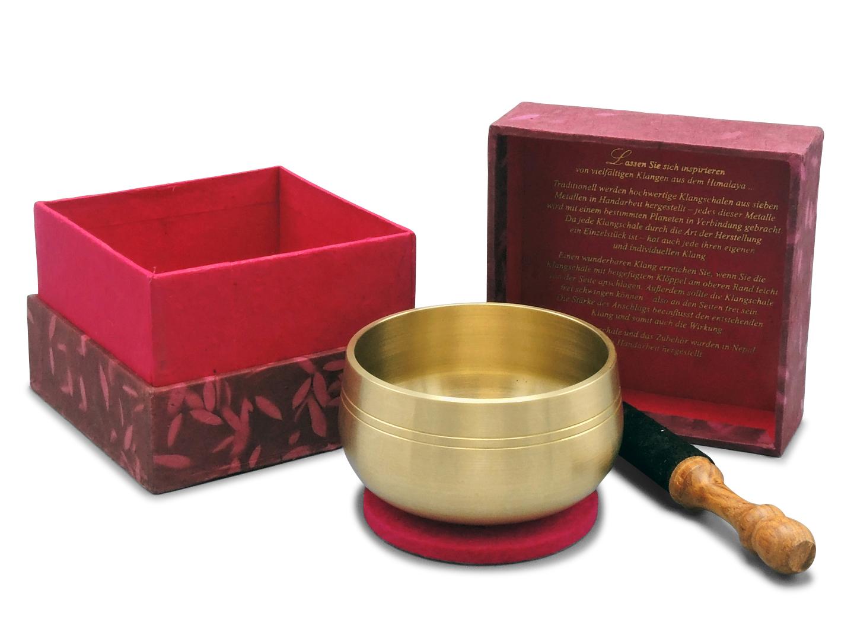 Mini-Klangschalen-3er-Set in Geschenkbox